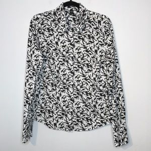 Icone orca novelty print blouse (free Willy)